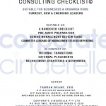 Corporate Cinderella Consulting Checklist for Leaders